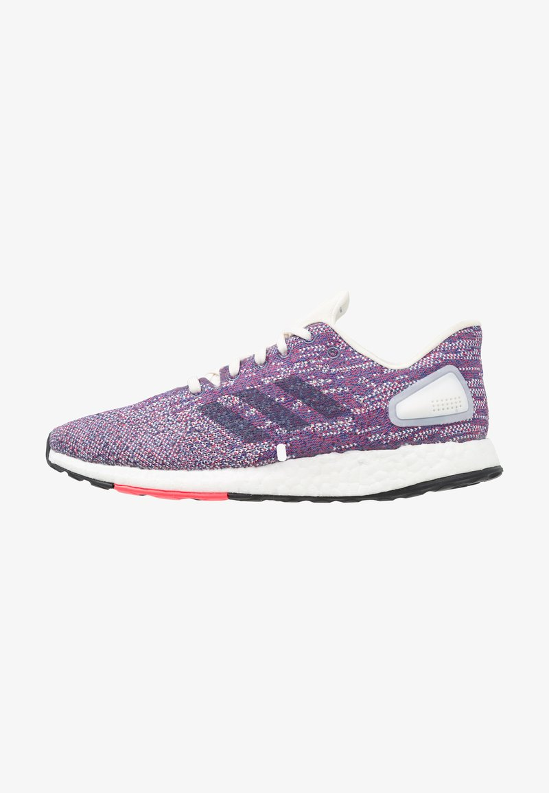 adidas Performance - PUREBOOST DPR  - Neutral running shoes - cloud white/raw indigo/shock red