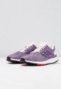 adidas Performance - PUREBOOST DPR  - Neutral running shoes - cloud white/raw indigo/shock red - 2