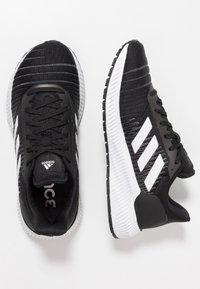 adidas Performance - SOLAR RIDE - Neutrala löparskor - core black/footwear white/grey five - 1