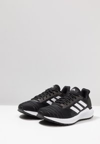 adidas Performance - SOLAR RIDE - Neutrala löparskor - core black/footwear white/grey five - 2