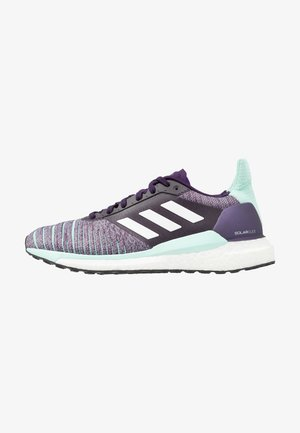 SOLAR GLIDE - Neutrální běžecké boty - legio purple/footwear white/clear mint