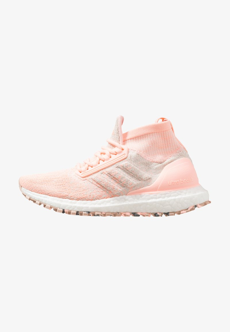 adidas Performance - ULTRABOOST ALL TERRAIN - Laufschuh Neutral - clear orange/offwhite/raw white
