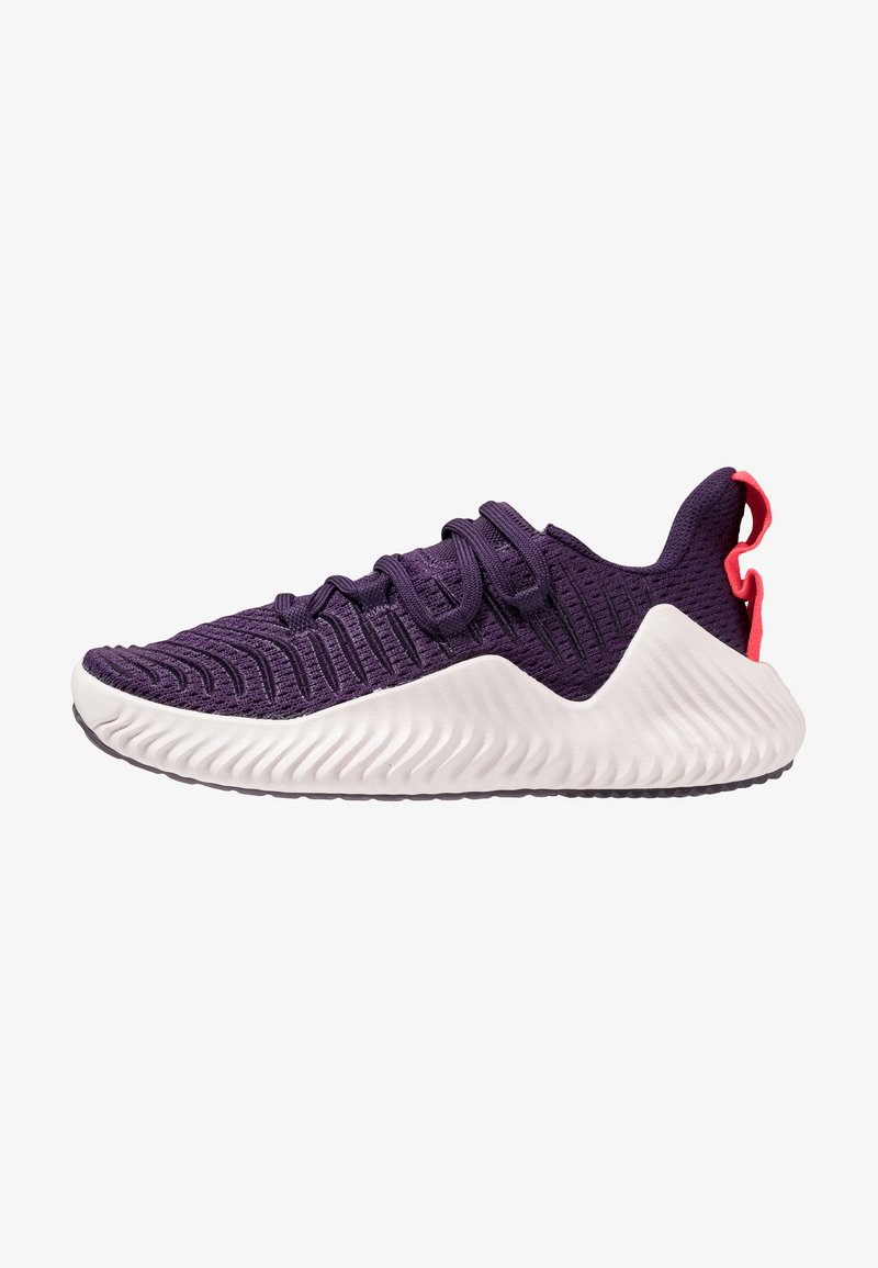 adidas Performance - ALPHABOUNCE TRAINER  - Obuwie do biegania treningowe - legend purple/orchid tint/shock red