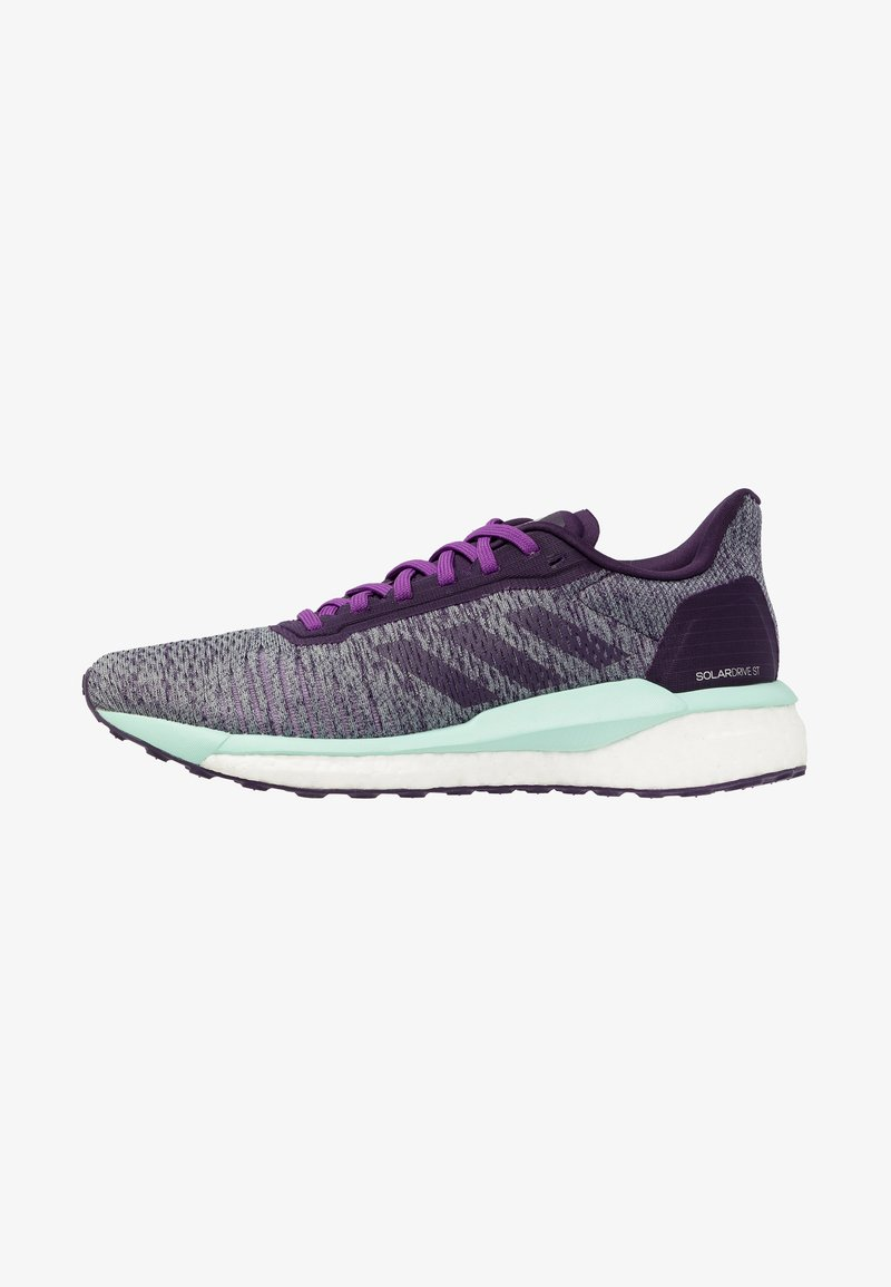 adidas Performance - SOLAR DRIVE - Neutral running shoes - active purple/legend purple/clear mint