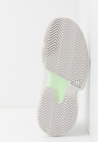 adidas Performance - SOLECOURT BOOST - Multicourt tennis shoes - glow green/footwear white/grey one - 4