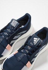 adidas Performance - SENSEBOOST GO - Neutral running shoes - collegiate navy/footwear white/glow pink - 5