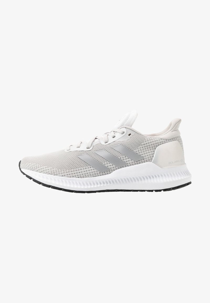 adidas Performance - SOLAR BLAZE - Neutral running shoes - grey one/silver metallic/core black