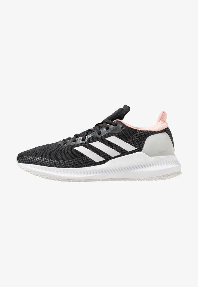 adidas Performance - SOLAR BLAZE - Laufschuh Neutral - core black/grey one/glow pink