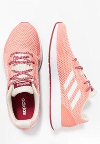 adidas Performance - SOORAJ - Scarpe running neutre - glow pink/footwear white/semi coral - 1