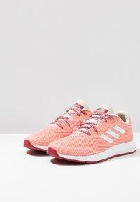 adidas Performance - SOORAJ - Scarpe running neutre - glow pink/footwear white/semi coral - 2