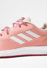adidas Performance - SOORAJ - Scarpe running neutre - glow pink/footwear white/semi coral - 5