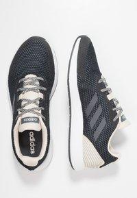 adidas Performance - SOORAJ VERUM CLOUDFOAM RUNNING SHOES - Obuwie do biegania treningowe - core black/grey five - 1