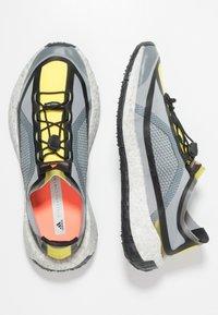 adidas by Stella McCartney - PUREBOOST HD SPORT RUNNING SHOES - Neutrální běžecké boty - iron metallic/vivid yellow/solar orange - 1