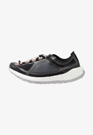 PUREBOOST HD SPORT RUNNING SHOES - Neutral running shoes - iron metallic/utility black/smoke pink