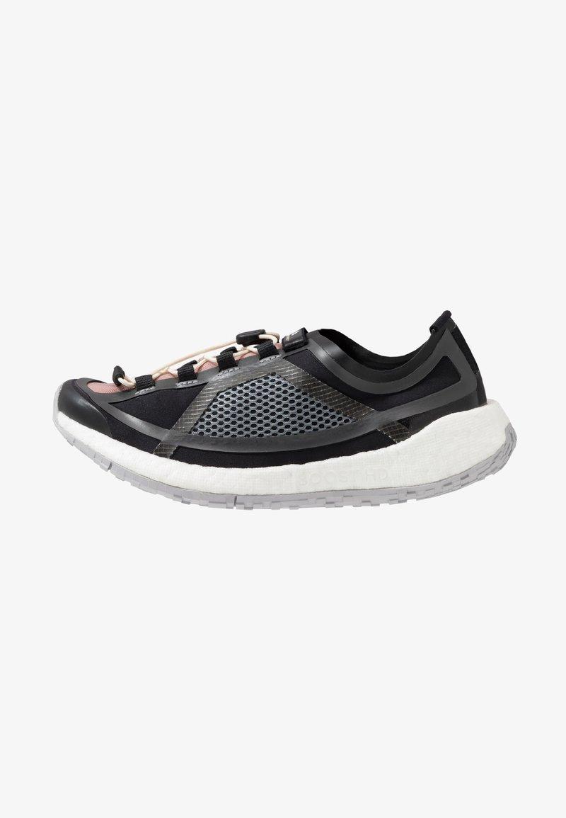 adidas by Stella McCartney - PUREBOOST HD SPORT RUNNING SHOES - Obuwie do biegania treningowe - iron metallic/utility black/smoke pink