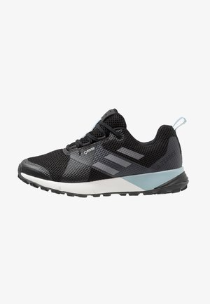 TERREX TWO GORE TEX TRAIL RUNNING SHOES - Trail running shoes - core black/grey three/ash grey