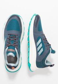 adidas Performance - RESPONSE TRAIL  - Neutrala löparskor - trace blue/ash grey/tech mint - 1