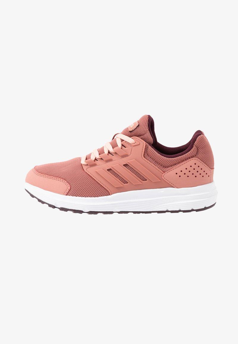 adidas Performance - GALAXY 4 - Neutrální běžecké boty - raw pink/maroon