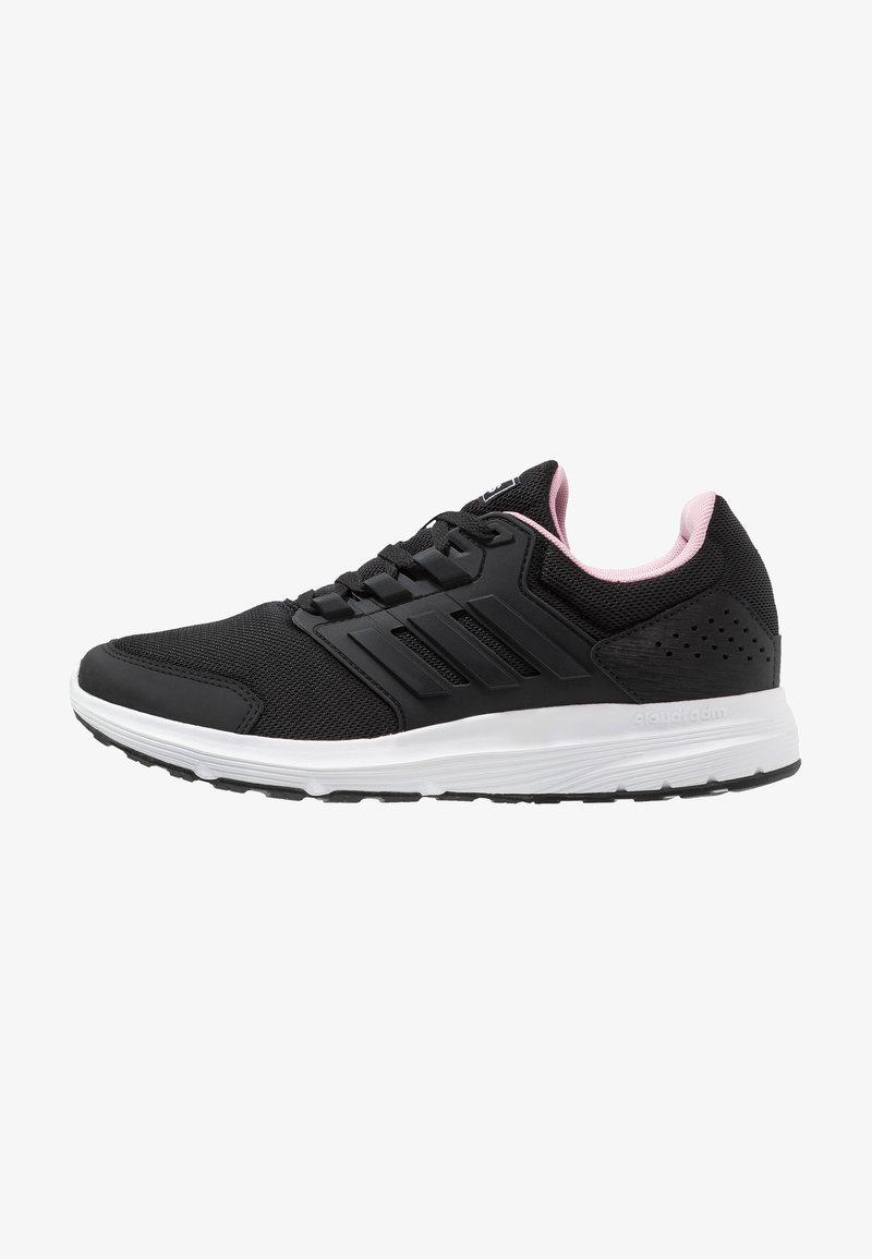 adidas Performance - GALAXY 4 - Laufschuh Neutral - core black/true pink