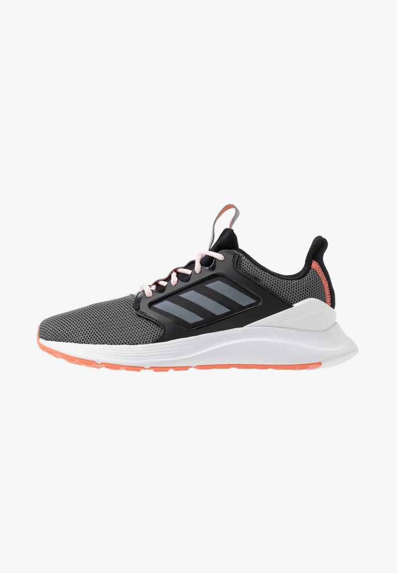 adidas Performance - ENERGYFALCON X - Laufschuh Neutral - core black/footwear white/grey