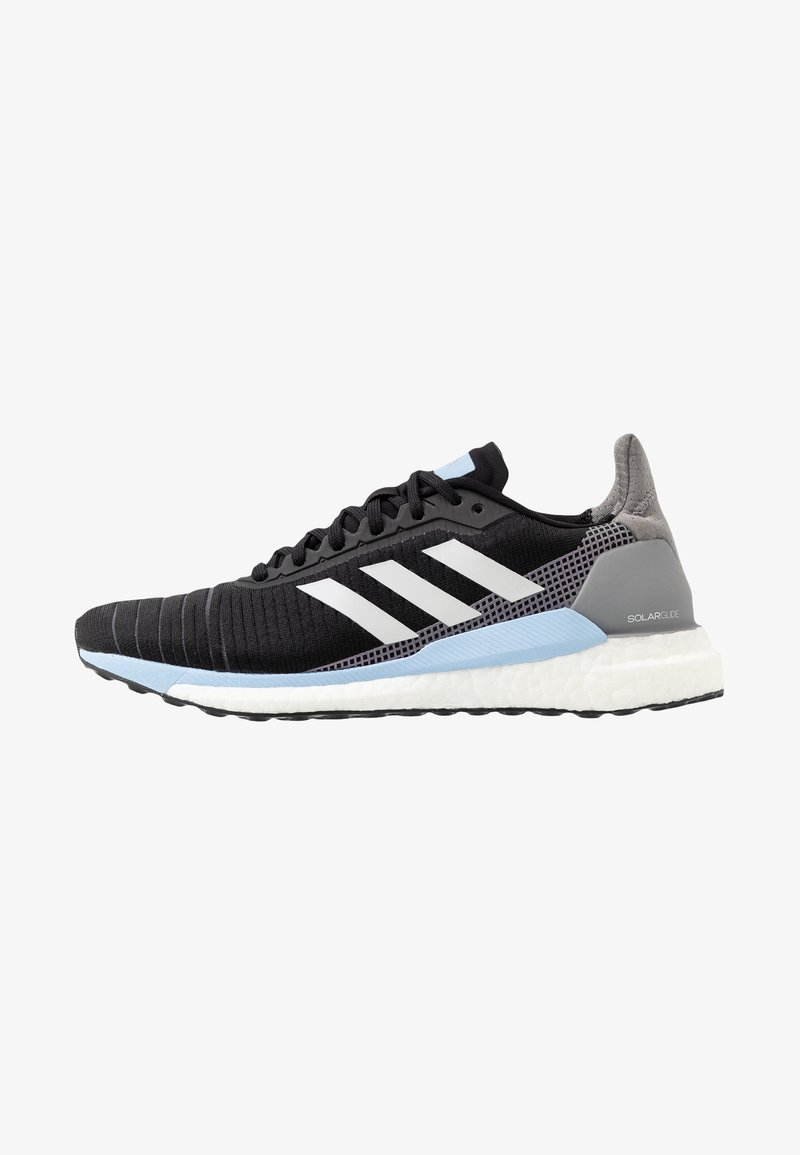 adidas Performance - SOLAR GLIDE 19 - Neutral running shoes - core black/grey one/glow blue