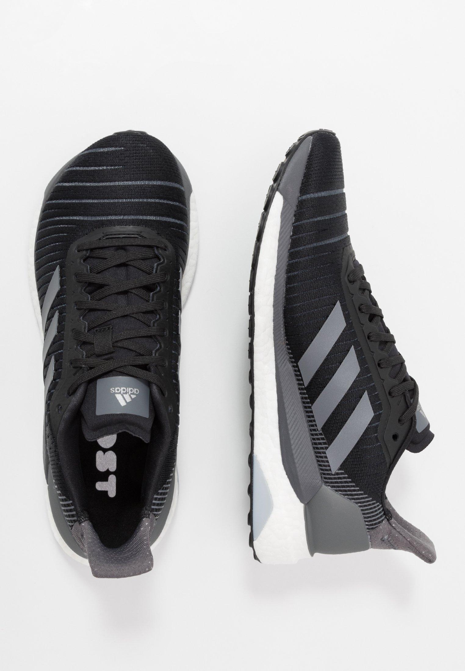 Adidas Performance Solar Glide 19 - Chaussures De Running Neutres Black 4gvFfE0