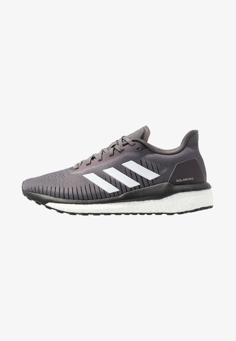 adidas Performance - SOLAR DRIVE 19 - Juoksukenkä/neutraalit - grey four/footwear white/glow pink