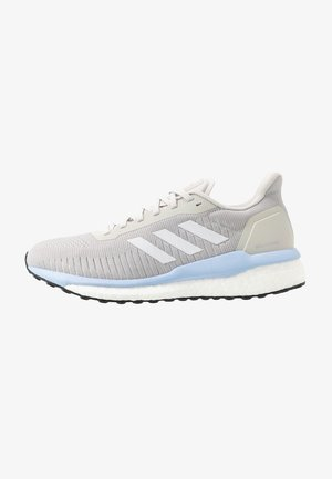 SOLAR DRIVE 19 - Neutral running shoes - grey two/footwear white/glow blue