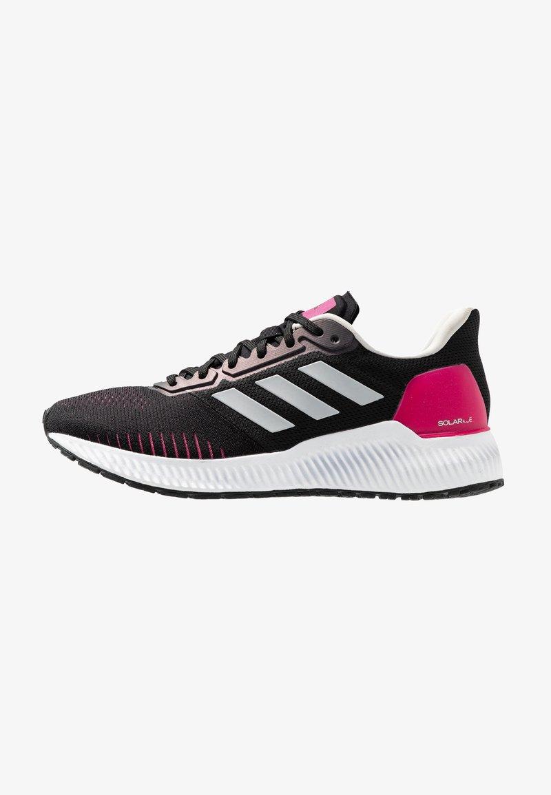 adidas Performance - SOLAR RIDE - Neutrální běžecké boty - core black/grey one/real magenta