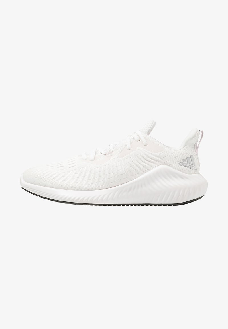 adidas Performance - ALPHABOUNCE+ - Neutral running shoes - crystal white/silver metallic/orchid tint