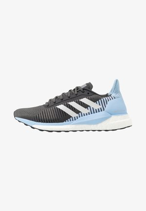 SOLAR GLIDE ST 19 - Chaussures de running neutres - grey six/grey one/glow blue