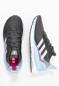 adidas Performance - SOLAR GLIDE ST 19 - Zapatillas de running neutras - grey six/grey one/glow blue - 1