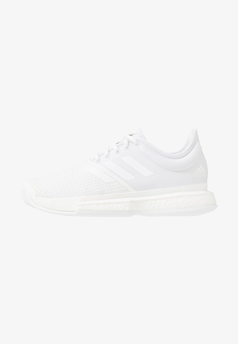 adidas Performance - SOLECOURT BOOST X PARLEY - Multicourt Tennisschuh - white/core black