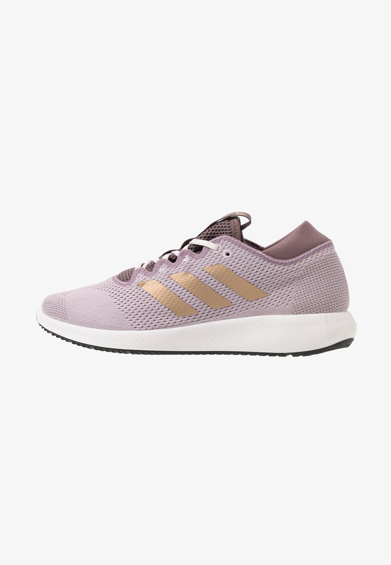 adidas Performance - EDGE FLEX - Neutral running shoes - soft vision/copper metallic/vision shadow