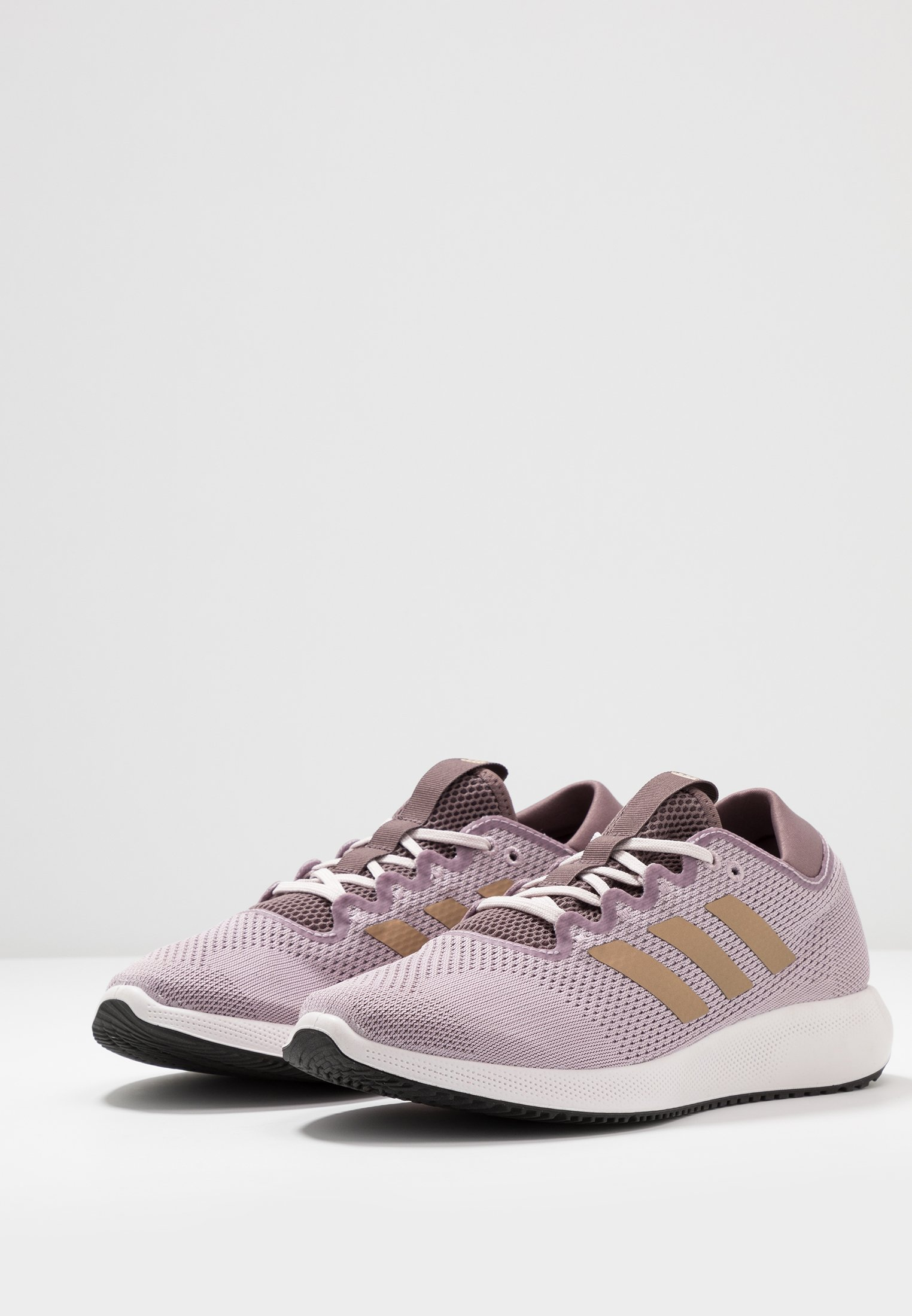 adidas Performance EDGE FLEX - Laufschuh Neutral soft vision/copper metallic/vision shadow