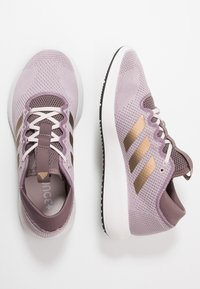 adidas Performance - EDGE FLEX - Neutral running shoes - soft vision/copper metallic/vision shadow - 1