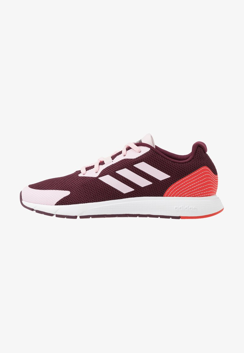 adidas Performance - SOORAJ - Neutral running shoes - maroon/clear pink/active red