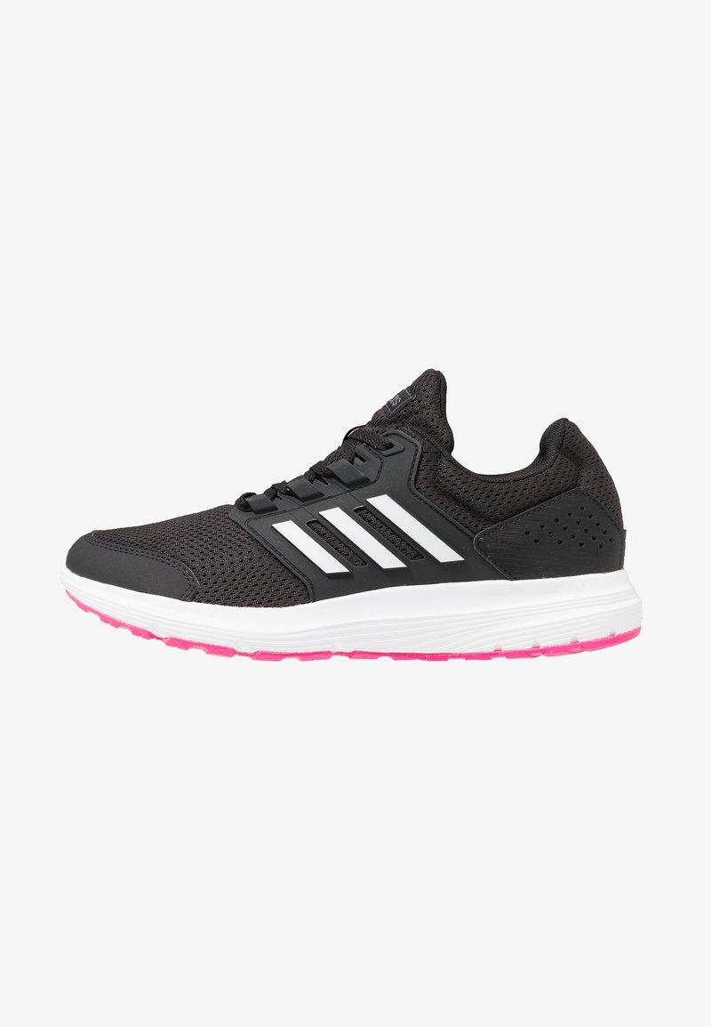 adidas Performance - GALAXY 4 - Juoksukenkä/neutraalit - core black/footwear white/shock pink