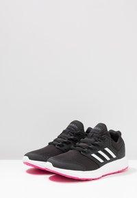adidas Performance - GALAXY 4 - Juoksukenkä/neutraalit - core black/footwear white/shock pink - 2