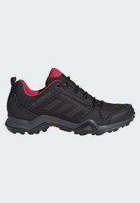 adidas Performance - TERREX AX3 SHOES - Hiking shoes - black - 6
