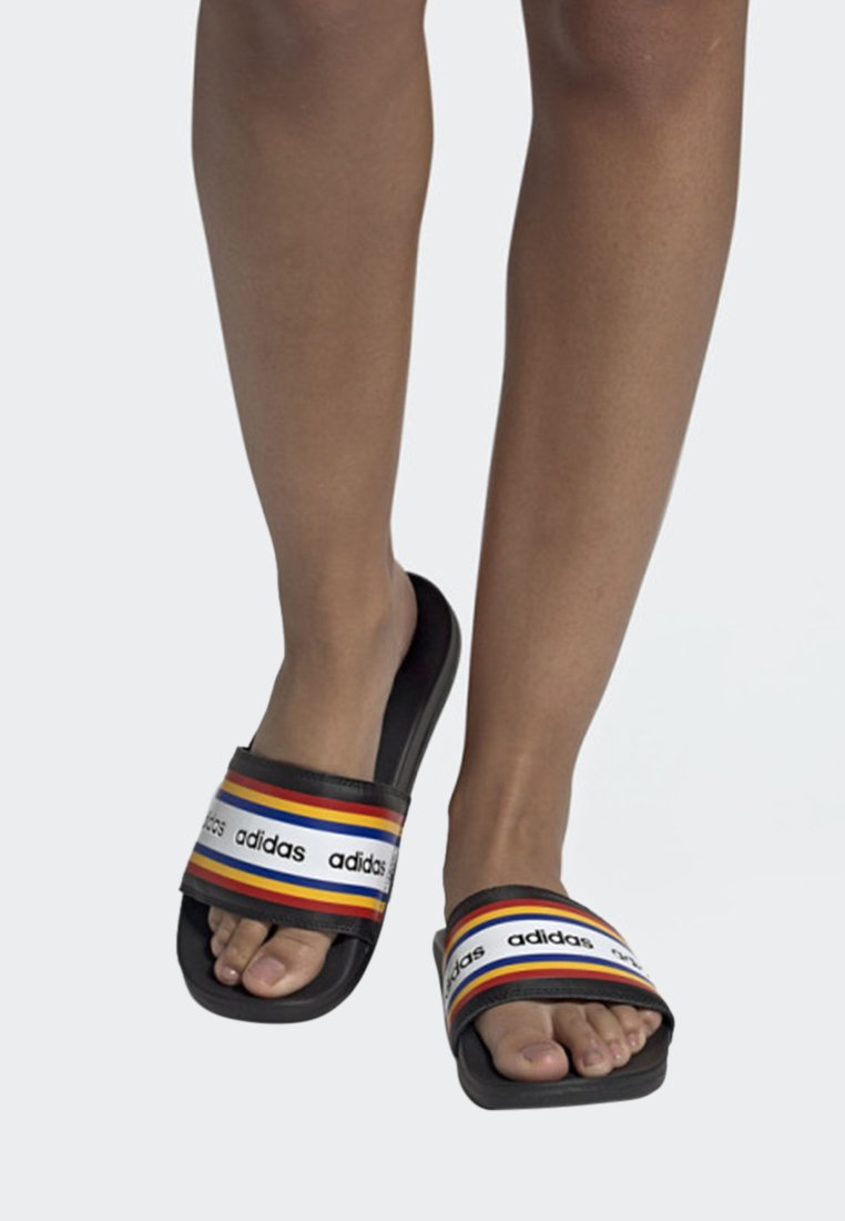 adidas Performance - FARM RIO ADILETTE COMFORT SLIDES - Badesandaler - black