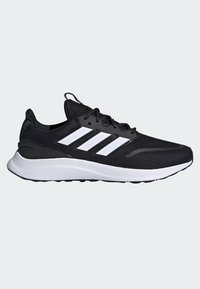 adidas Performance - ENERGYFALCON SHOES - Stabilty running shoes - black/white/grey - 6