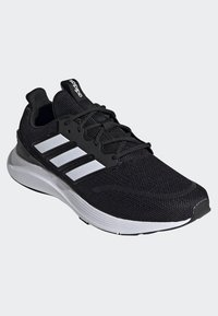 adidas Performance - ENERGYFALCON SHOES - Stabilty running shoes - black/white/grey - 3