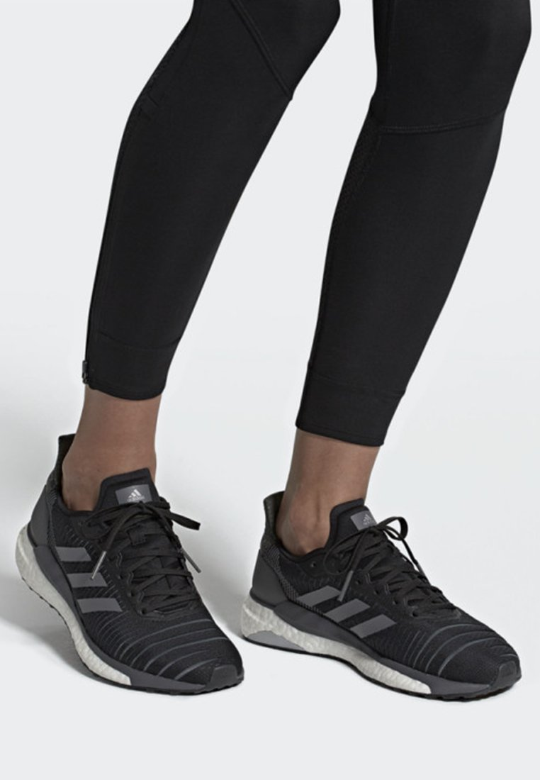 adidas Performance - SOLAR GLIDE 19 SHOES - Neutral running shoes - black/grey/white