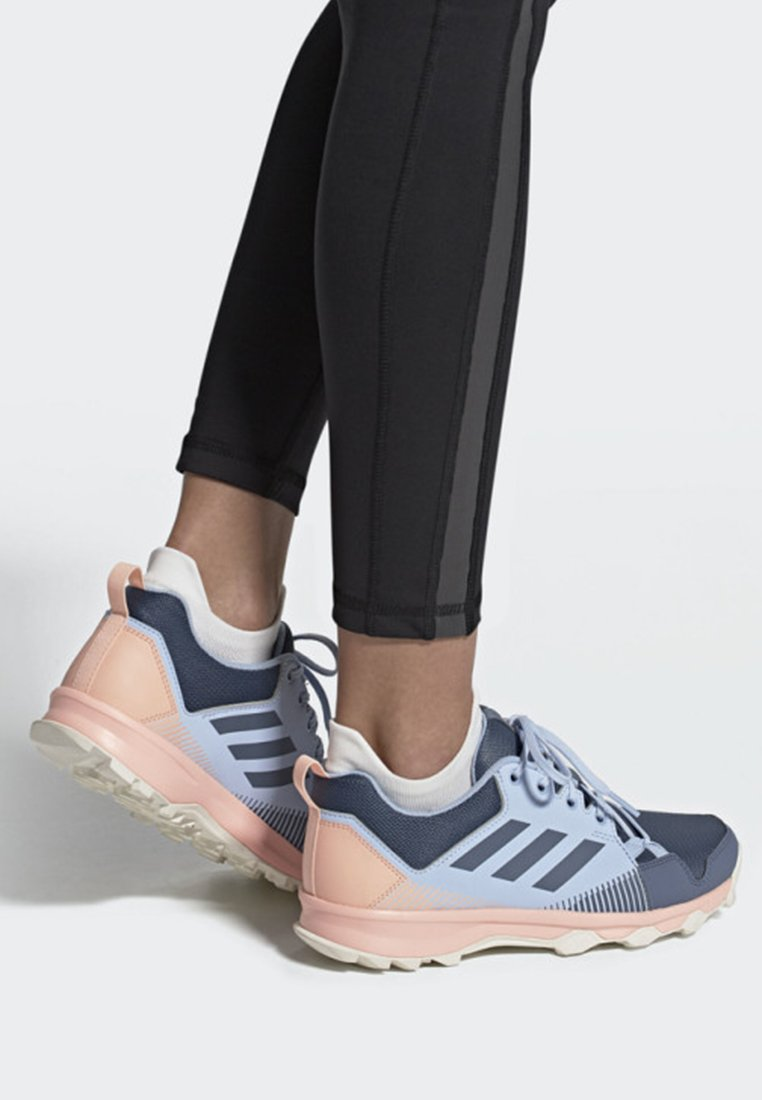adidas Performance - TERREX TRACEROCKER SHOES - Trail running shoes - blue