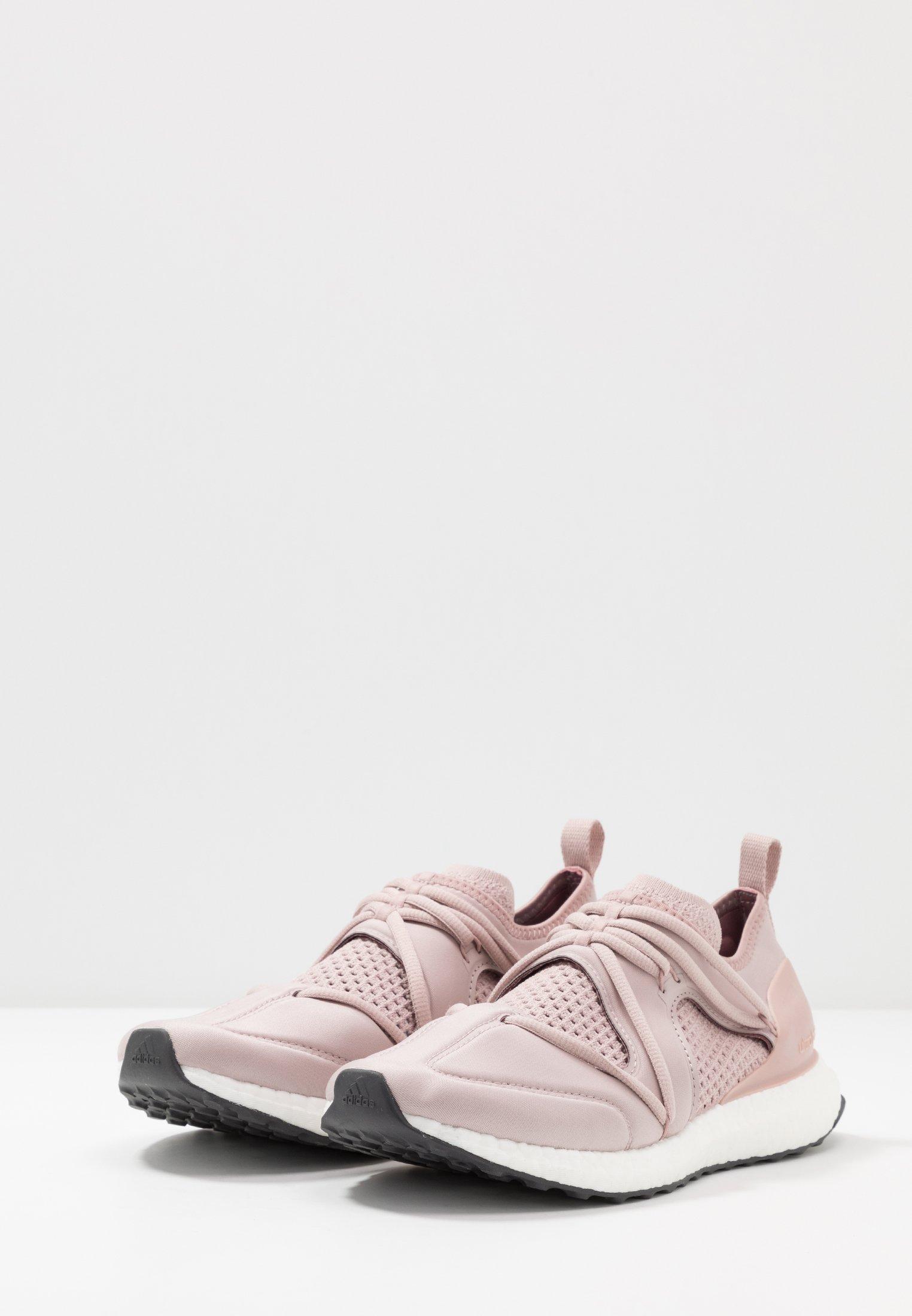 adidas by Stella McCartney ULTRABOOST - Neutrala löparskor - dust rosa/ultra pop/legend red