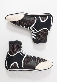 adidas by Stella McCartney - BOXING SHOE - Obuwie treningowe - black/white/footwear white/pearl grey - 1