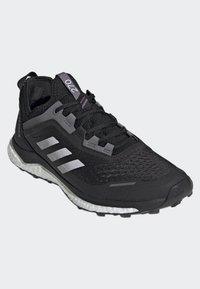 adidas Performance - TERREX AGRAVIC FLOW SHOES - Laufschuh Neutral - black - 3