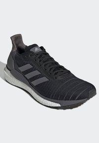 adidas Performance - SOLAR GLIDE 19 SHOES - Hardloopschoenen neutraal - black - 12