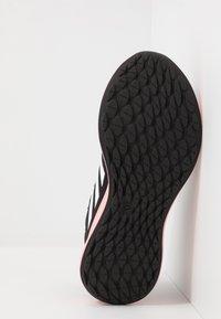 adidas Performance - SENSEBOUNCE + STREET - Neutral running shoes - core black/footwear white/glow pink - 4